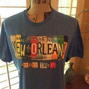 Delta Ringspun T-shirt. Size L